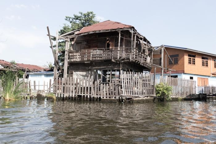 Khlong Bangkok Thaïlande