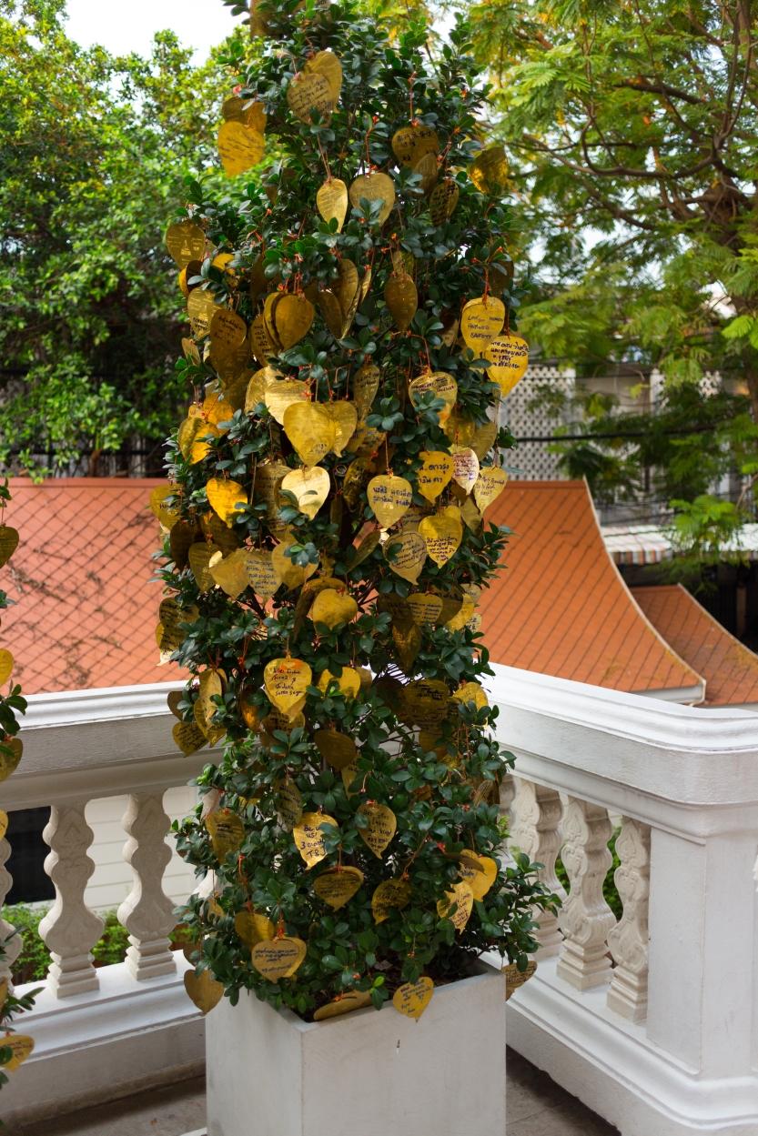 Montagne d'or Bangkok Thaïlande