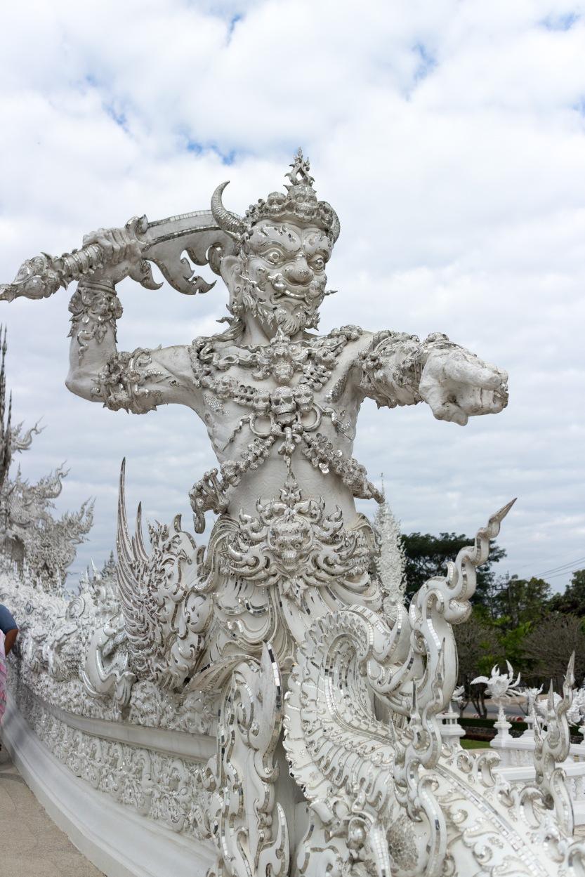 Temple blanc Chiang Rai Thaïlande