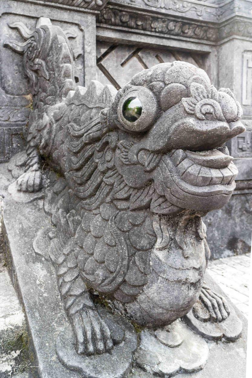 Tombeau impérial Hué Vietnam
