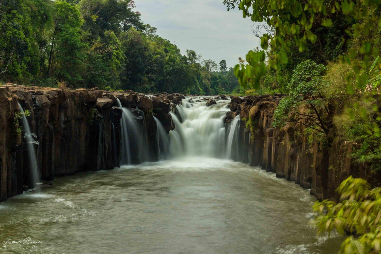cascade plateau des bolovens laos