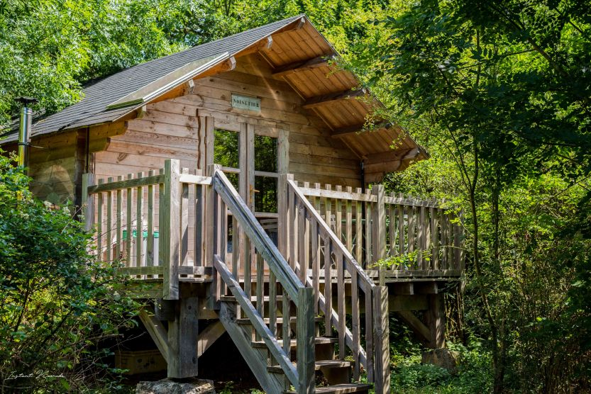 ecologia cabane forestière