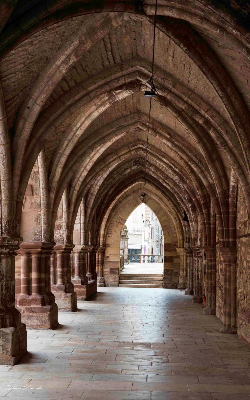 abbaye saint colomban luxeuil les bains vosges du sud