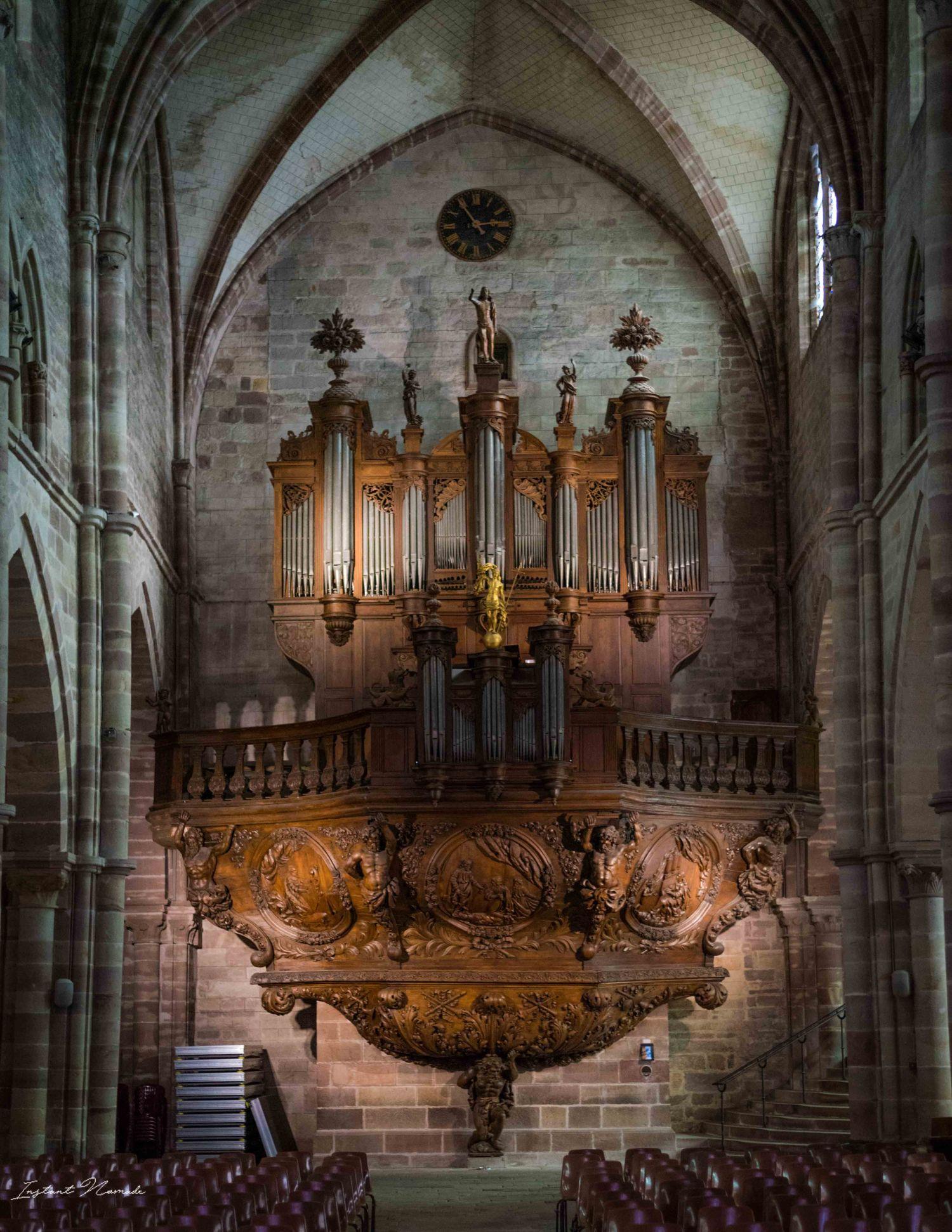 orgue basilique saint pierre luxeuil les bains vosges du sud