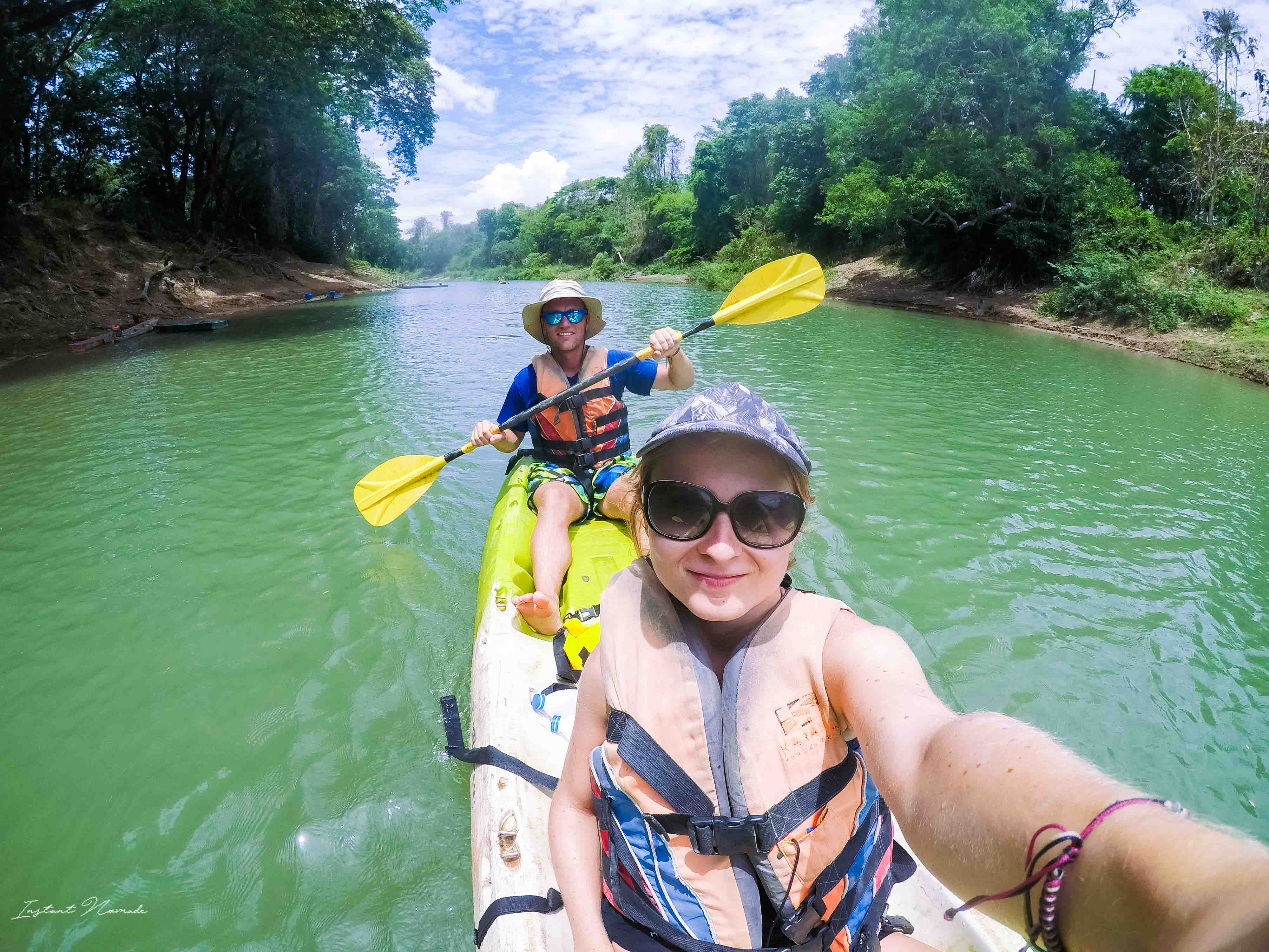 kayak 4000 îles laos