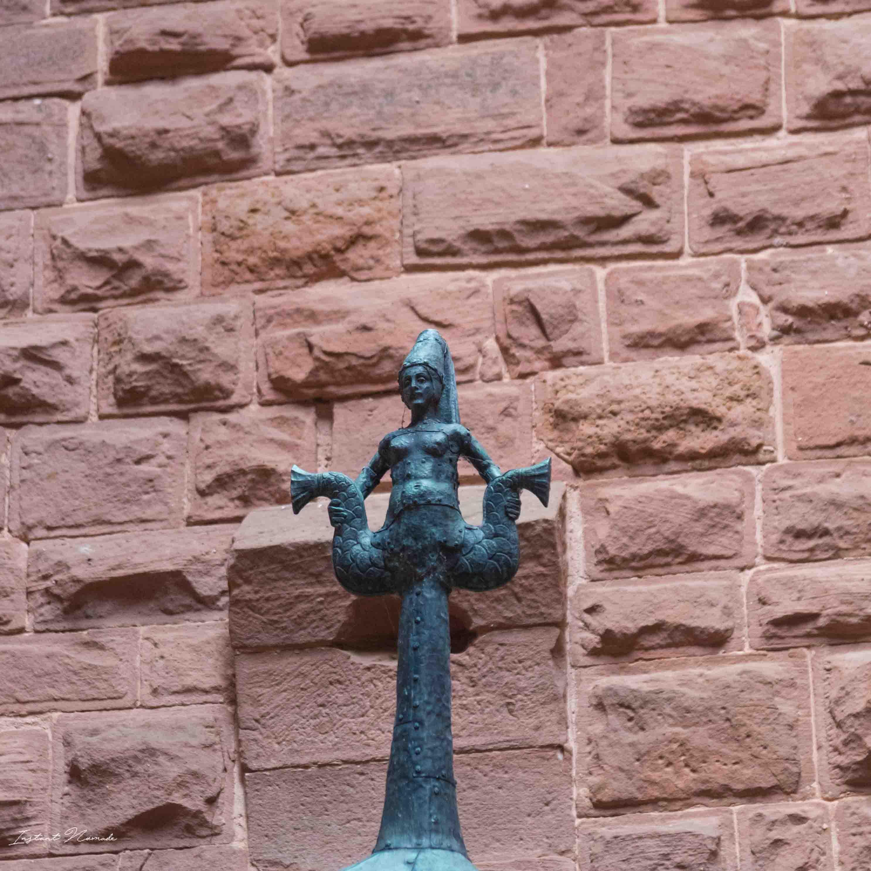 detail haut koenigsbourg alsace chateau