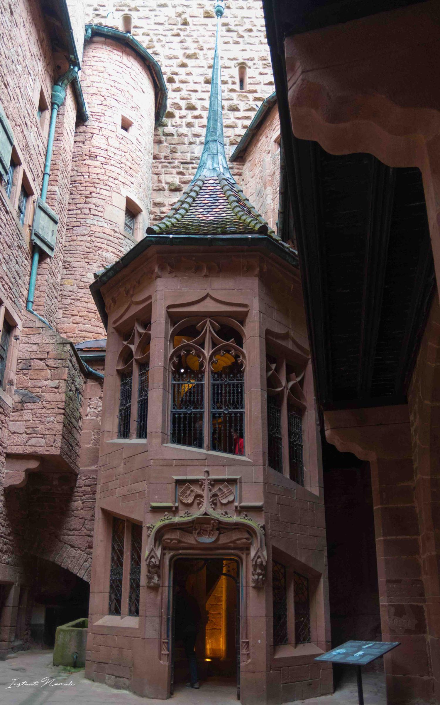 haut koenigsbourg alsace interieur chateau