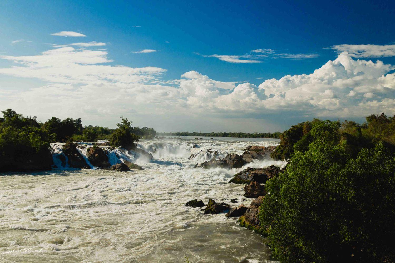 Khonephapheng Waterfall park 4000 laos iles chute d'eau