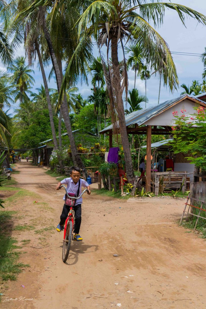 village don Khone laos 4000 iles