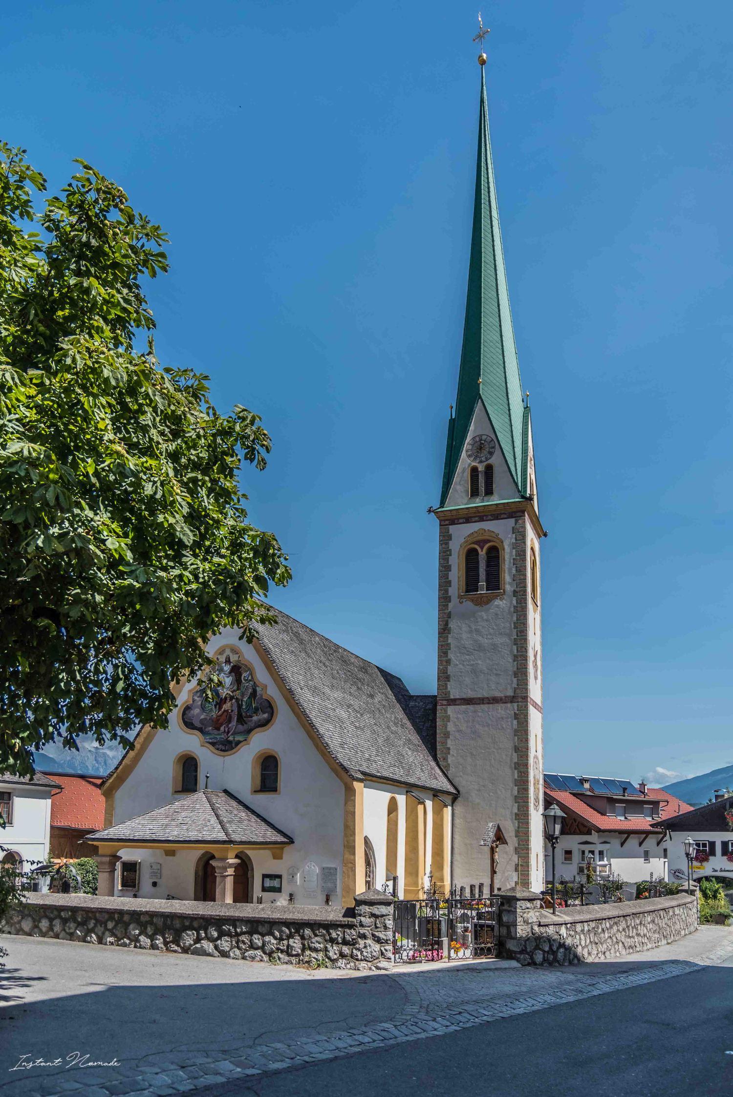 église mutters tyrol autriche