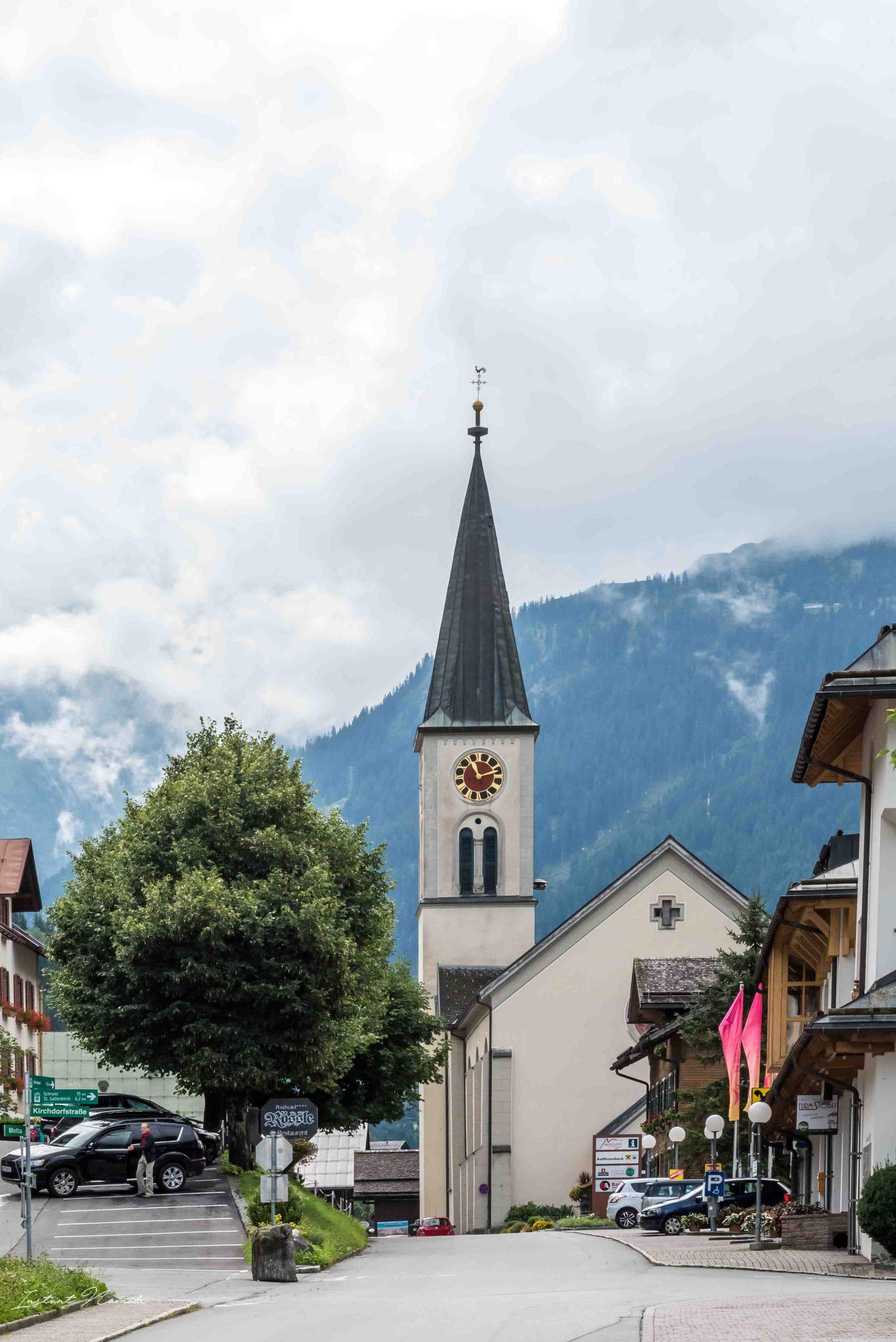 église village autriche