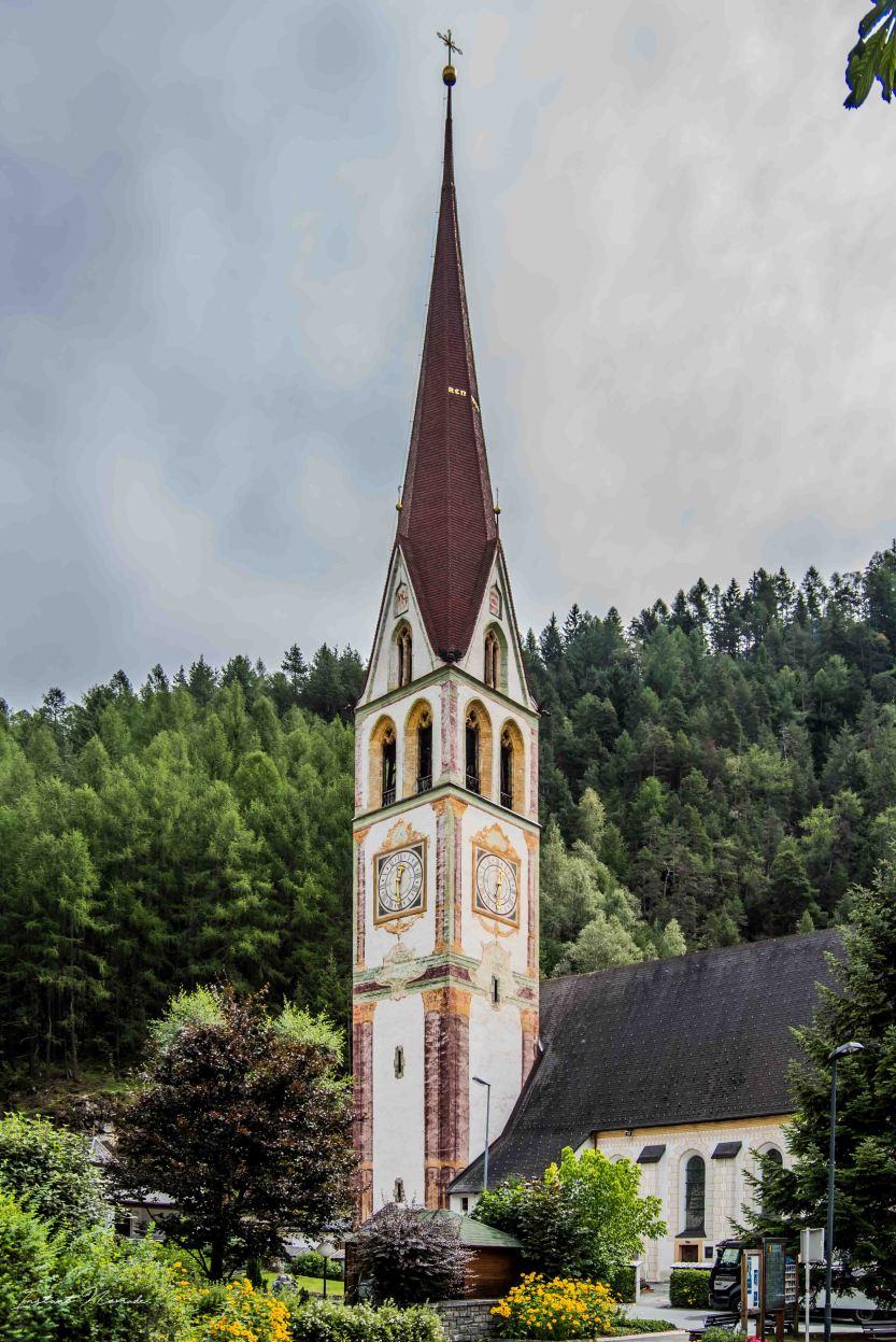 clocher église autriche