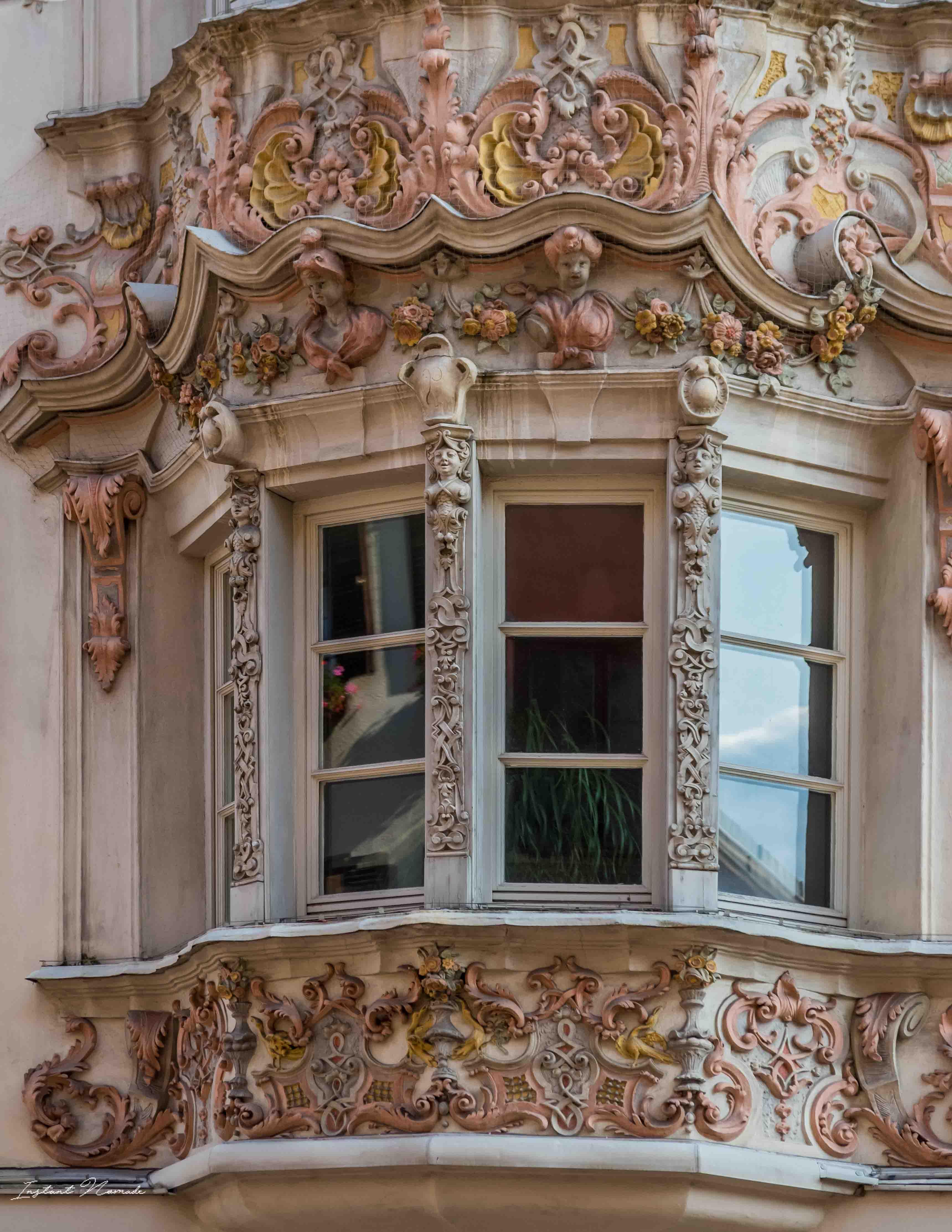 façade innsbruck autriche