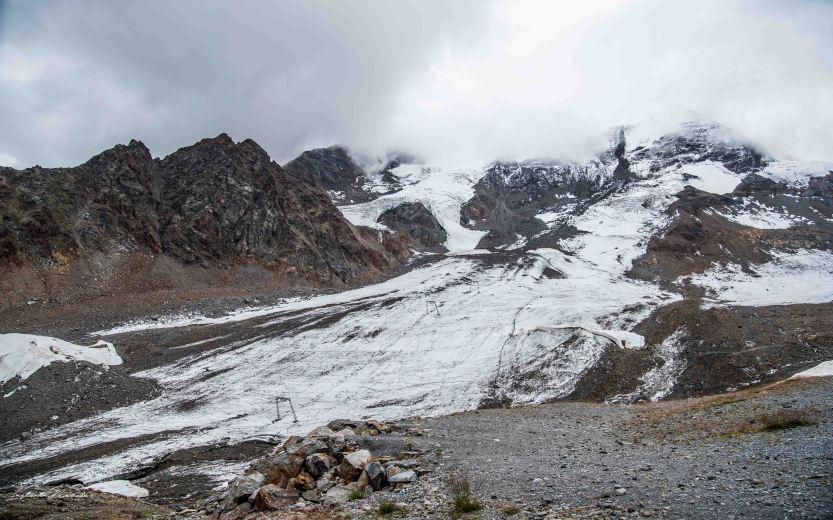 glacier montagne autriche