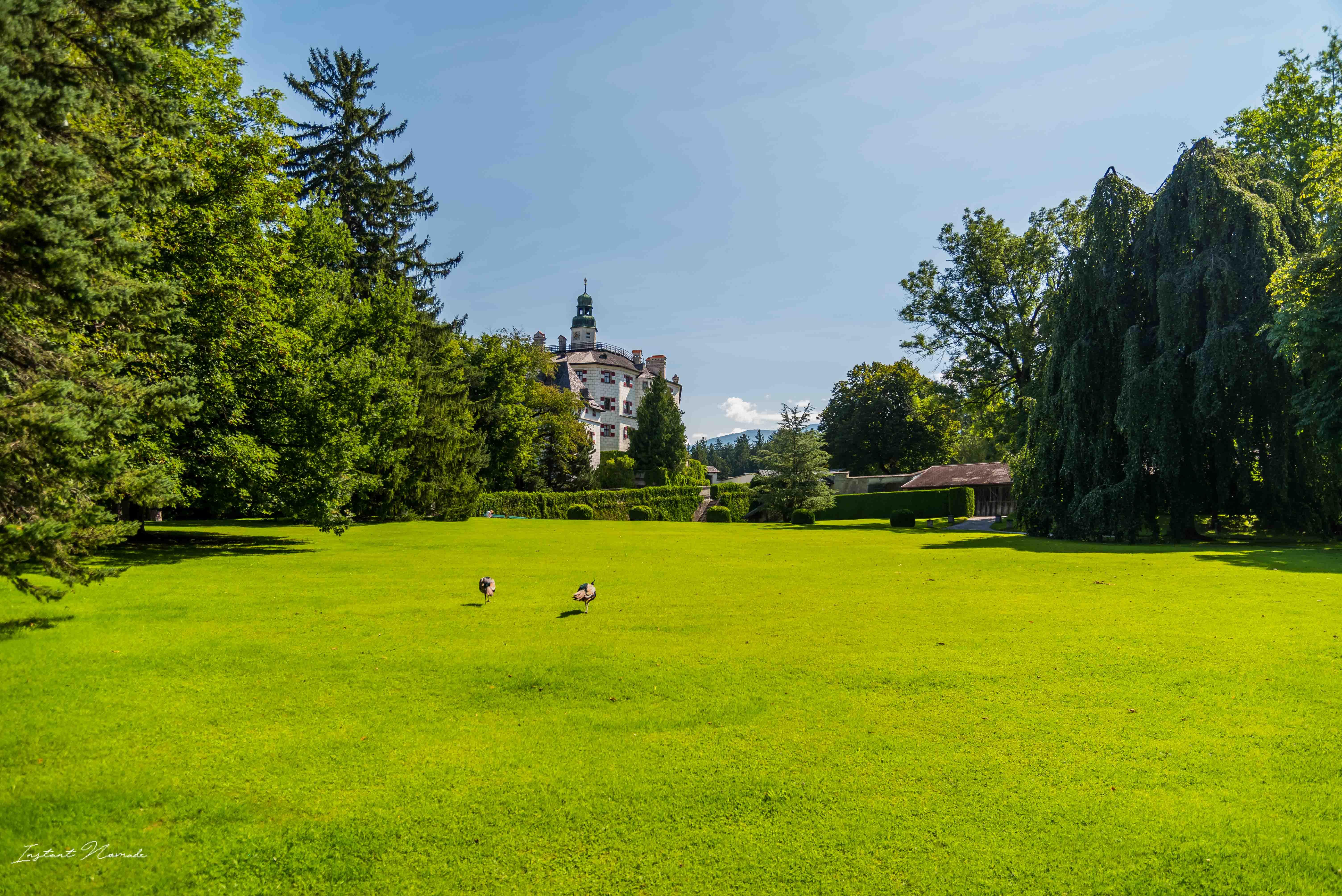 parc chateau ambras innsbruck