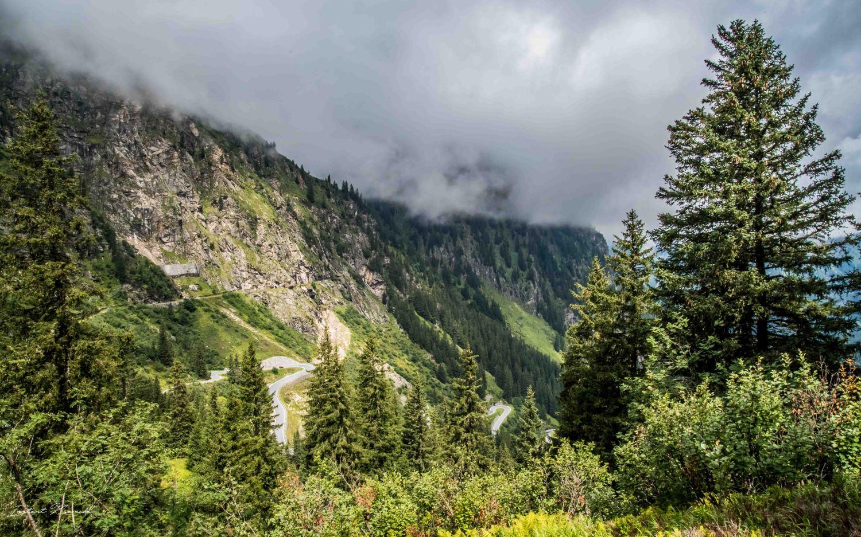 route panoramique montagne autriche
