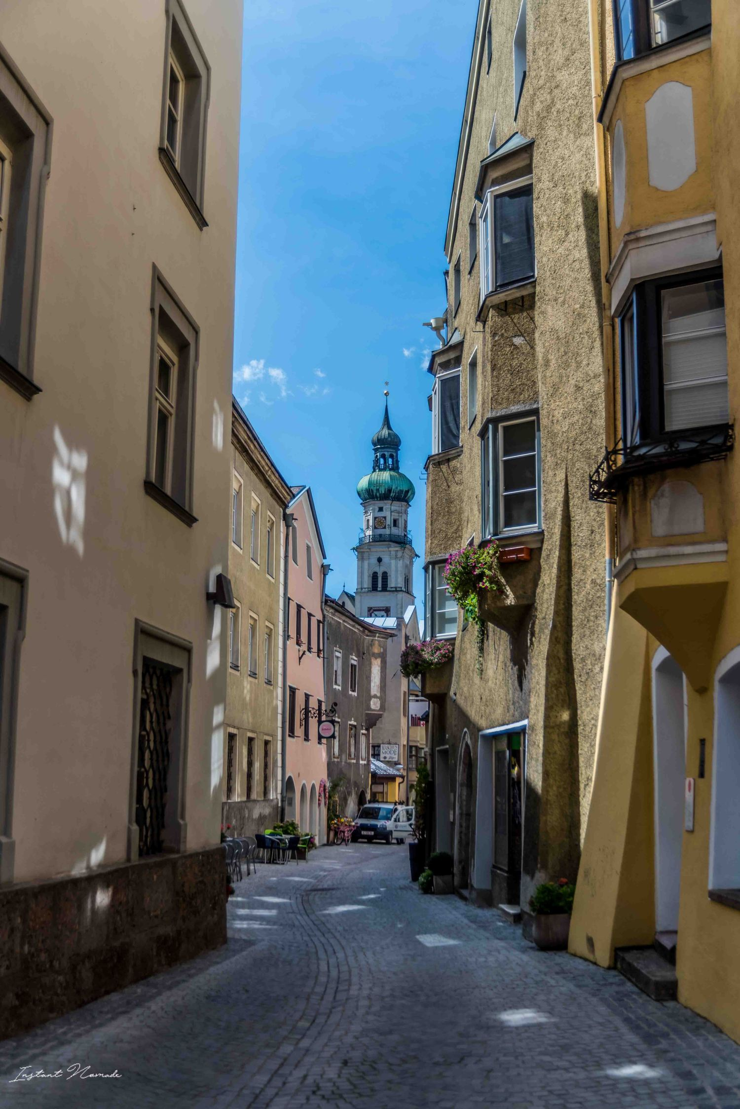 rue médiévale mutters autriche