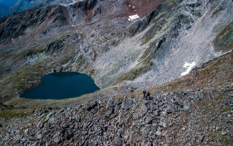 solden lac d'altitude autriche