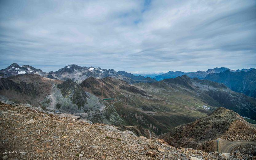 vue altitude montagne autriche