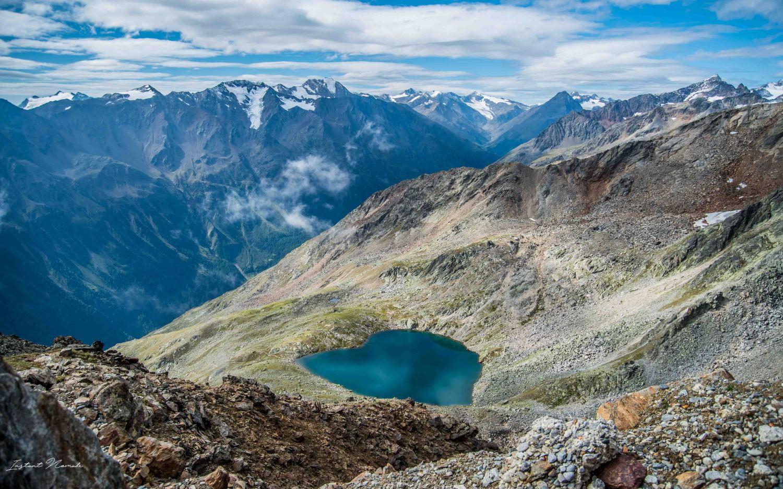 vue drone montagne autriche