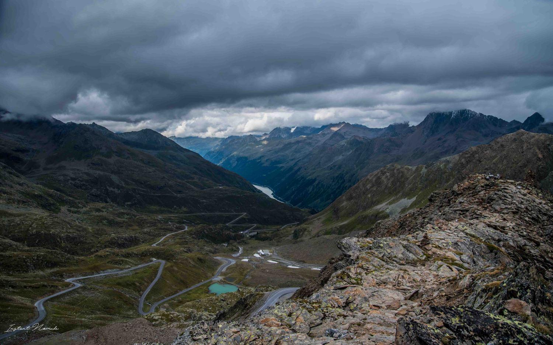 vue glacier montagne autriche