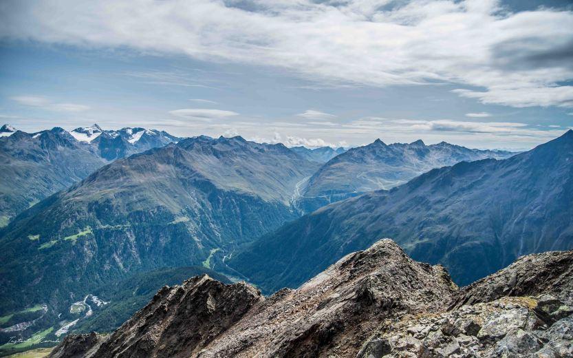 vue montagne autriche