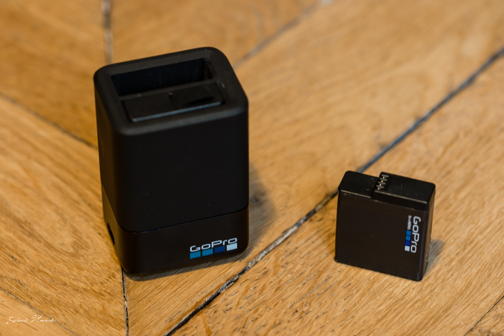 double chargeur go pro gopro hero 5 action cam