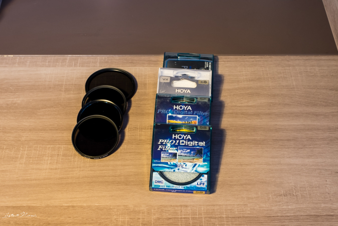 filtre hoya ND 1000 ND 8 polarisant anti UV