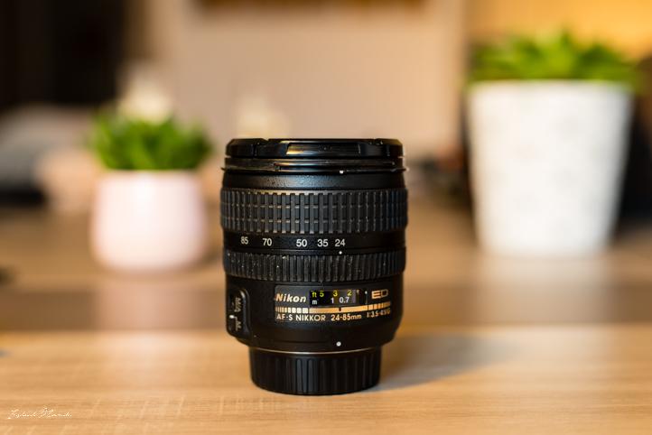objectif nikon 24 85 mm monture fx f3.5 f4.5