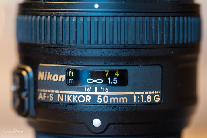 objectif nikon 50 mm monture fx f1.8