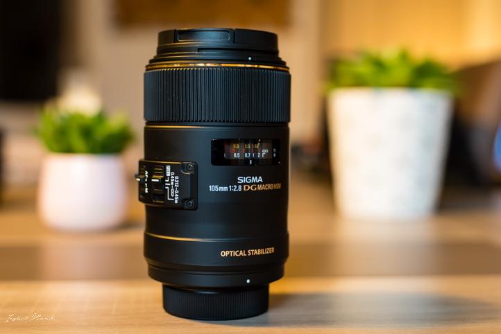 objectif sigma 105 mm macro f2.8