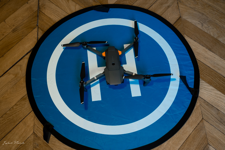 piste decollage drone mavic pro dji