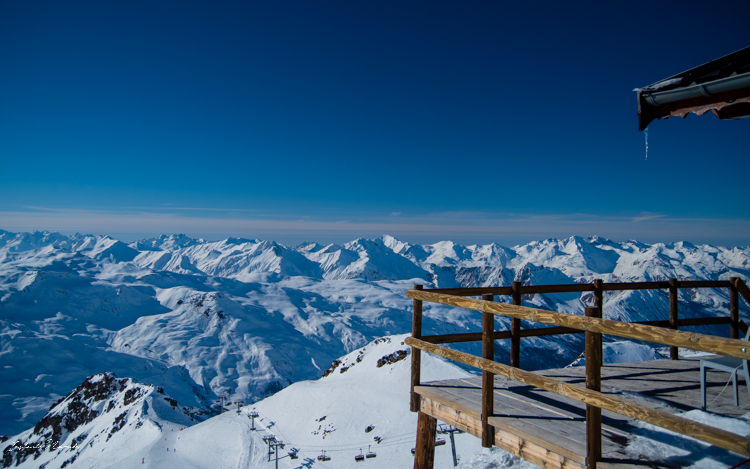 3 vallées montagne alpes