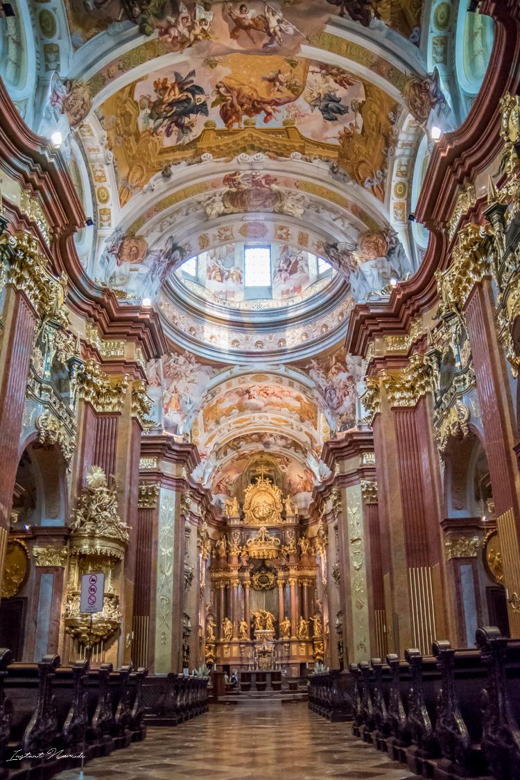 église abbaye de melk autriche