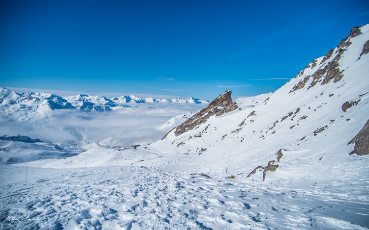 montagne neige alpes