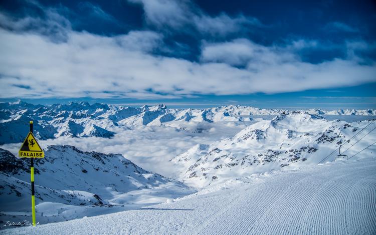 piste ski montagne alpes