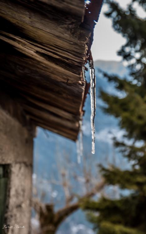 stalactite montagne alpes