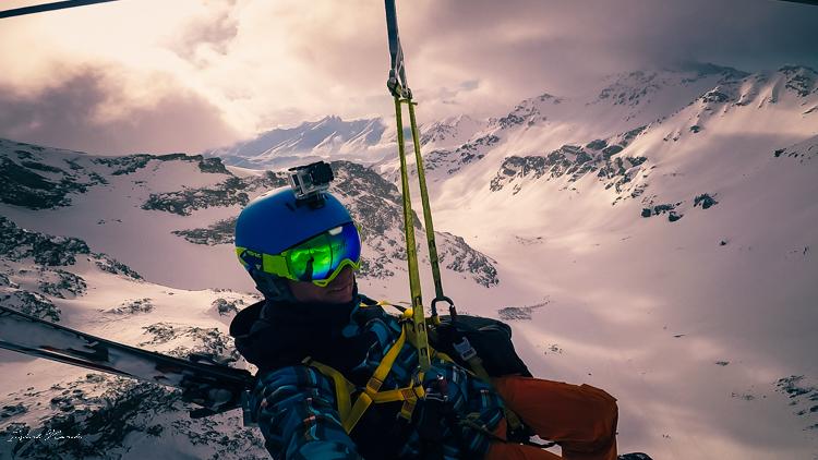tyrolienne orelle alpes
