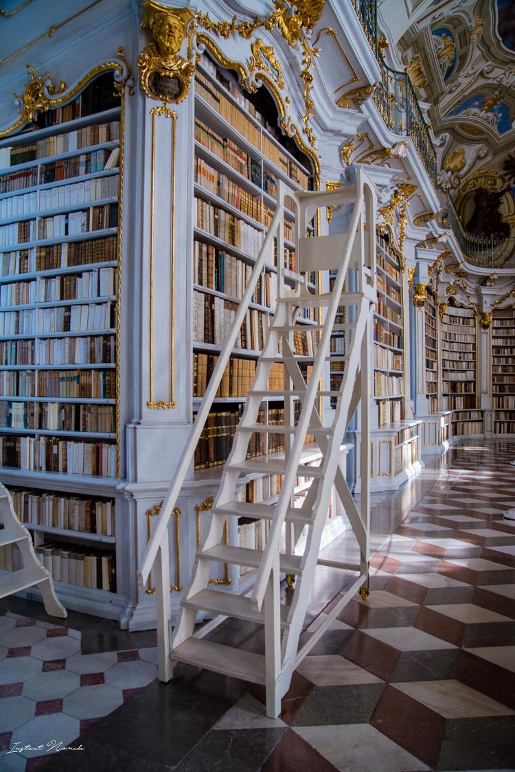 echelle-etagere-bibliotheque-abbaye-admont