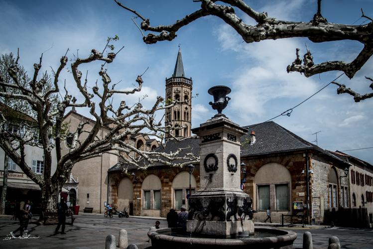 place millau aveyron
