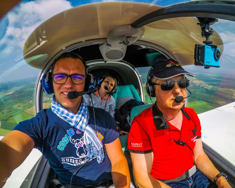 vue avion verdun