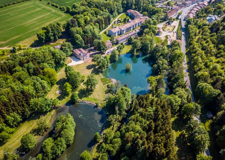 vue drone domaine de sommedieue verdun