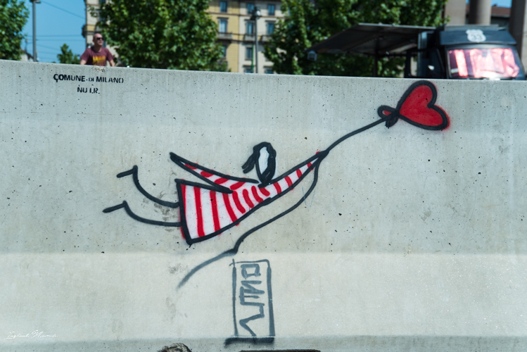 art de rue milan italie