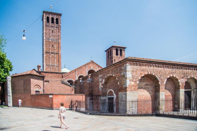 basilique sainte ambroise milan