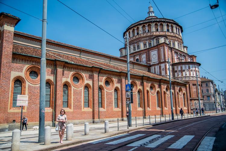 église santa maria delle Grazie milan