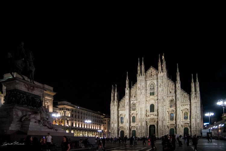 cathédrale il duomo vue nuit