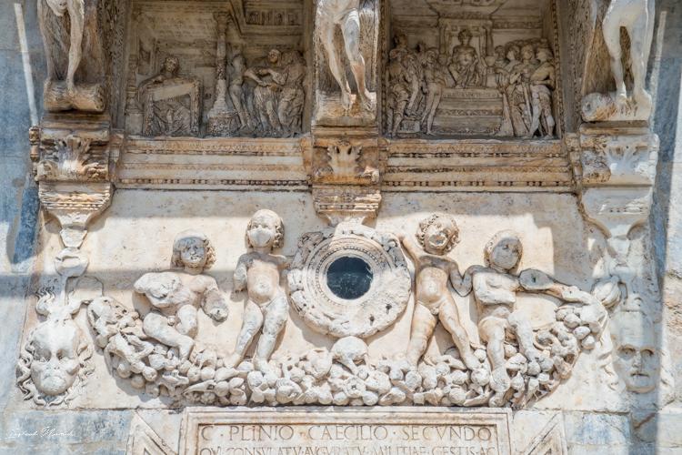 détails cathédrale come italie