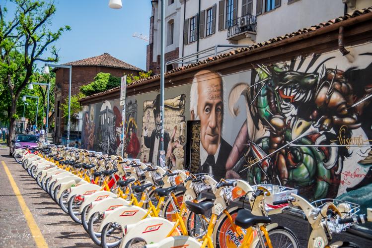 mur street art milan