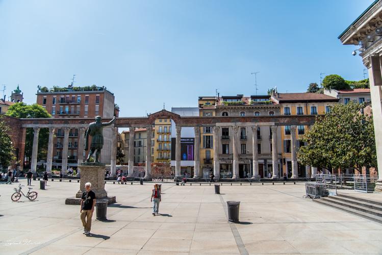 place colonnes saint laurent milan