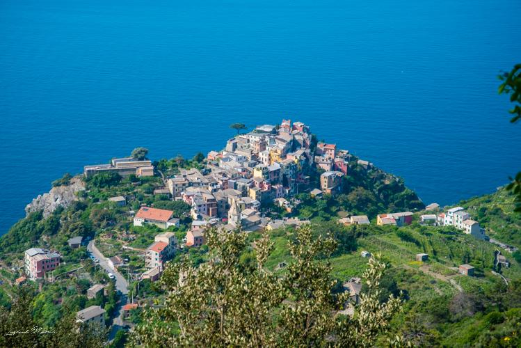 vue cinque terre italie